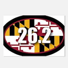 Maryland-262-OVALsticker Postcards (Package of 8)