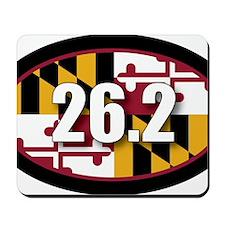 Maryland-262-OVALsticker Mousepad