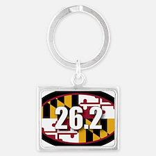 Maryland-262-OVALsticker Landscape Keychain
