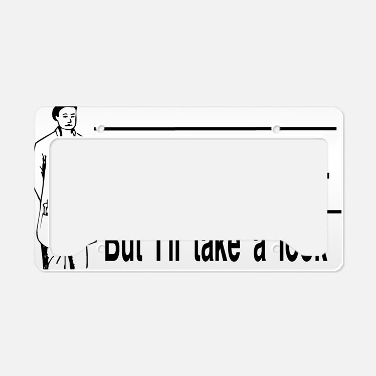 take a look License Plate Holder