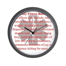 NEW side effects may include Wall Clock