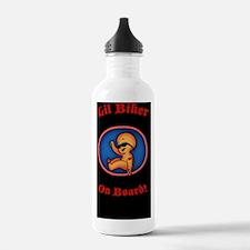 biker-womb-STKR Water Bottle