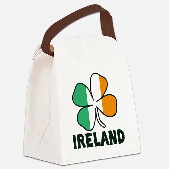 Ireland 4 Leaf Canvas Lunch Bag