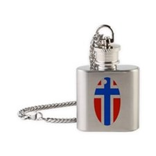 N key chain Flask Necklace