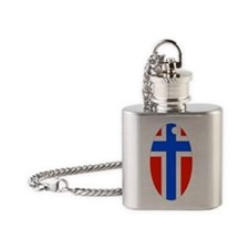 N key chain2 Flask Necklace