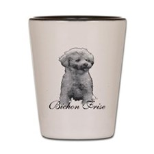 Bichon Shot Glass