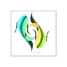 """japanrelief2011_241 Square Sticker 3"""" x 3"""""""