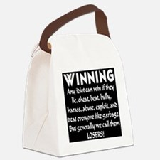 winning_losers_inverted Canvas Lunch Bag