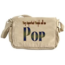VERY IMPORTANT PEOPLE CALL ME. Messenger Bag