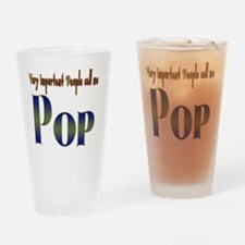 VERY IMPORTANT PEOPLE CALL ME. Drinking Glass