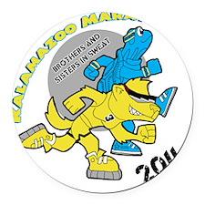 Wolverine  Turtle (update 3-30) Round Car Magnet