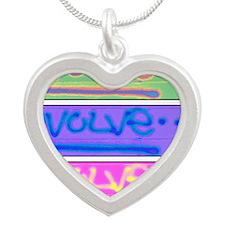 evolve3 Silver Heart Necklace