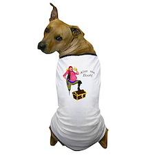 Pirate - Kiss Me Booty Dog T-Shirt