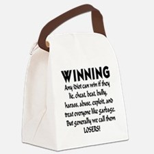 winning_losers Canvas Lunch Bag