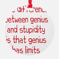 genius-stupidity_tall2 Ornament