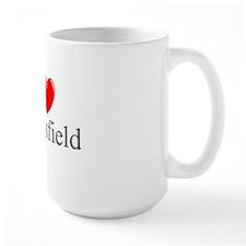"""""""I Love Bakersfield"""" Mug"""