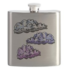 Cloudy Day Baby Blanket Flask