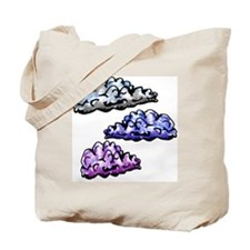 Cloudy Day Baby Blanket Tote Bag