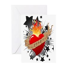 Heart_6x9 Greeting Card