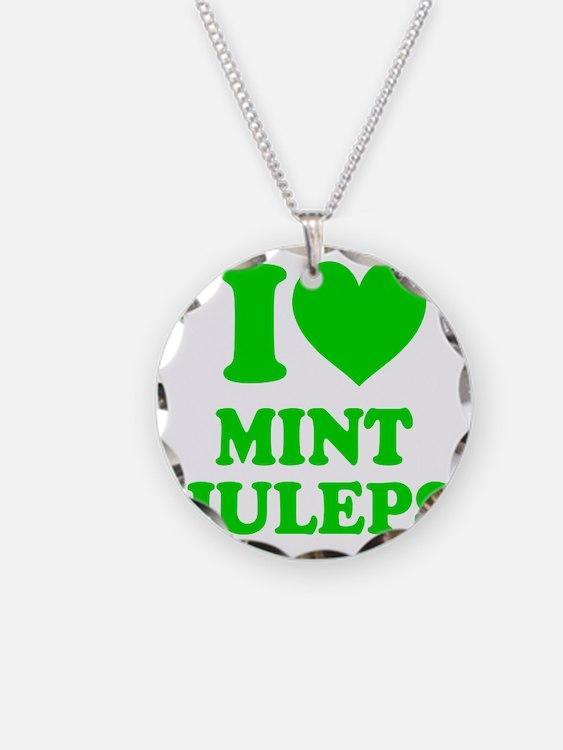 I Heart Mint JULEPS Necklace