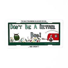 emma_eikert Aluminum License Plate