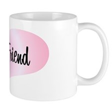 Bride's Friend - Pink Heart Mug