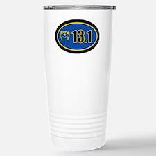 Nevada-131-OVALsticker Stainless Steel Travel Mug