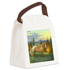 Appaloosa Sunset Canvas Lunch Bag