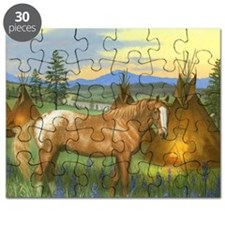 Appaloosa Sunset Puzzle