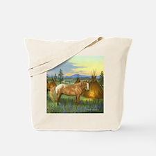 Appaloosa Sunset Tote Bag