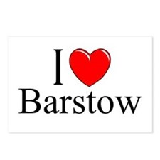 """""""I Love Barstow"""" Postcards (Package of 8)"""