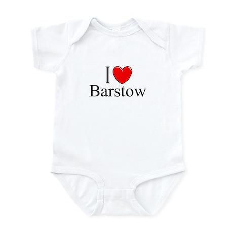 """""""I Love Barstow"""" Infant Bodysuit"""