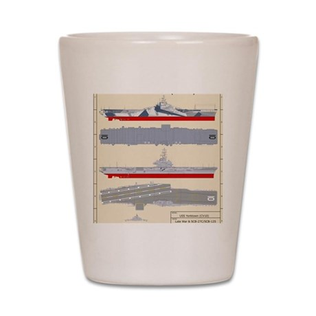 Essex-Yorktown-T-Shirt_Back Shot Glass
