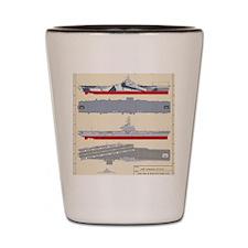 Essex-Yorktown-T-Shirt_Back Shot Glass