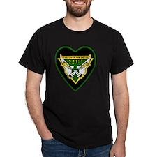 221st-RAC-69-71-heart-neckl T-Shirt