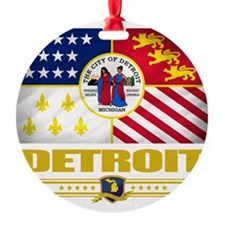 Detroit (Flag 10) Ornament