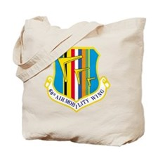 60th Airlift Military Wing Tote Bag