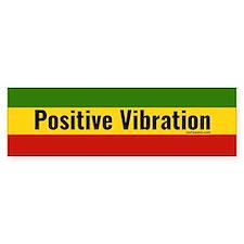 Rasta Gear Shop Positive Vibration Bumper Car Sticker