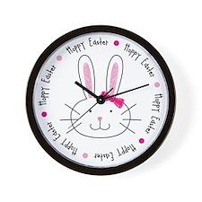 hoppyeaster_cp Wall Clock