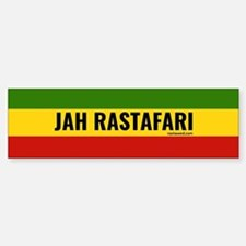 Rasta Gear Shop Jah Rastafari Bumper Car Car Sticker
