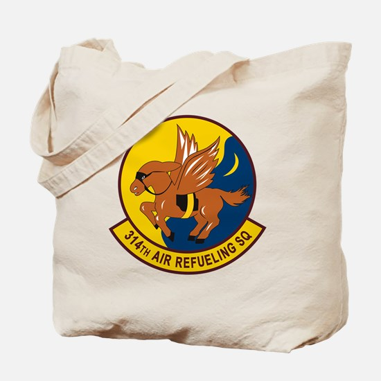 314th Air Refueling Squadron Tote Bag