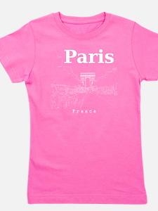 Paris_10x10_apparel_ChampsElysees_White Girl's Tee