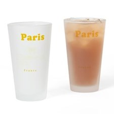 Paris_10x10_apparel_ChampsElysees_Y Drinking Glass