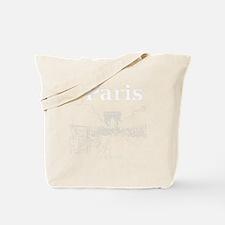 Paris_10x10_apparel_ChampsElysees_WhiteOu Tote Bag