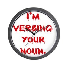 verbing Wall Clock