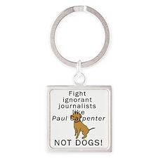 PAULC Square Keychain