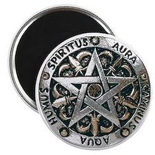 wiccan pentagram 2 Magnet
