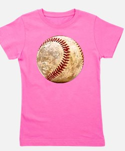 baseball_ball Girl's Tee