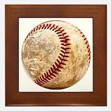 baseball_ball Framed Tile