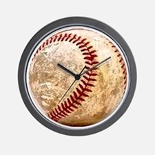 baseball_ball Wall Clock